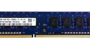 Ram DDR3 4GB 1600MHz