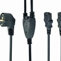 Power Cable C13 2x 2m Gembird