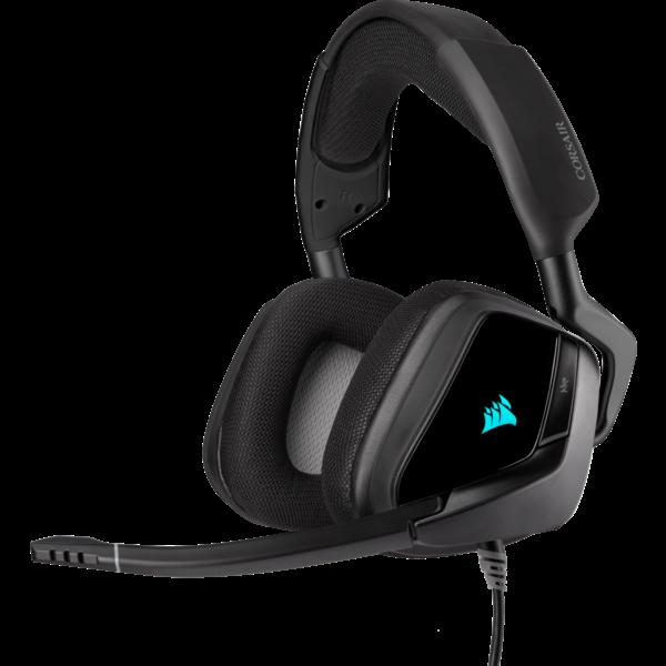 Corsair CA 9011203 VOID RGB ELITE USB Premium Gaming Headset with 7.1 Surround Sound Carbon